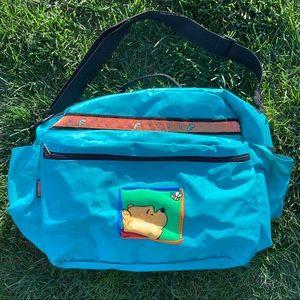 Vintage Winnie the Pooh Duffel Bag